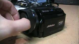 JVC Victor Everio GZ-MG505 camcorder review