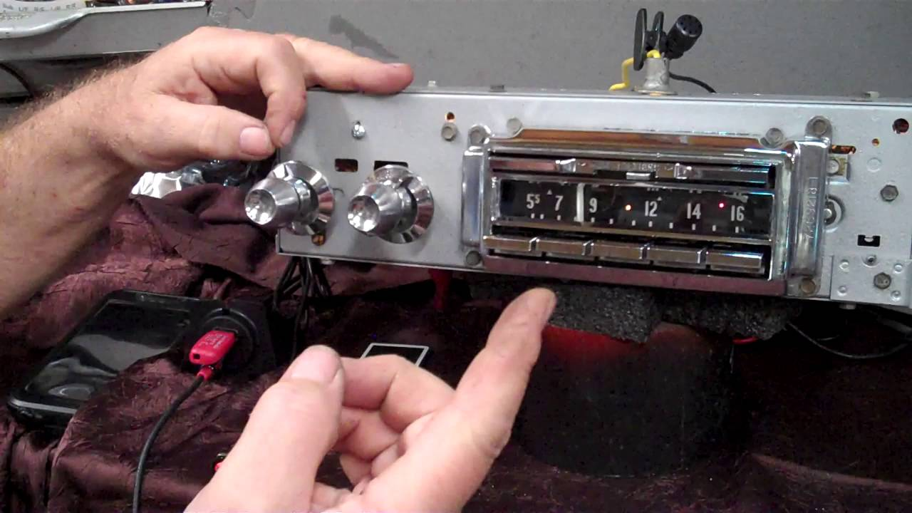 1957 Cadillac Original Am Wonder Bar Radio Youtube Wiring Harness
