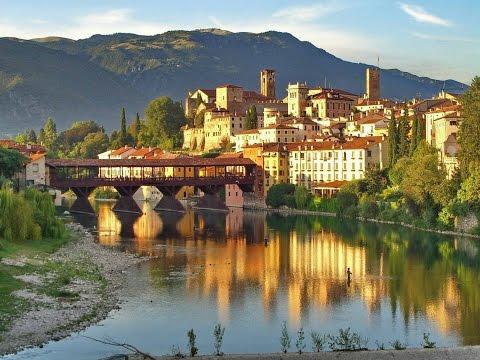 Morando na Italia!  visitando Bassano del Grappa.