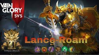 Vainglory 5v5 -Lance Roam perfect (Rank nosso de cada dia #2)