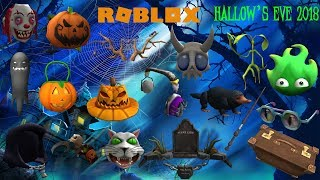 Roblox - Hallow's Eve 2018 (Prizes)