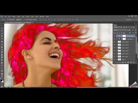 Photoshop Tutorial Hair fire effect | Photo Manipulation in Photoshop