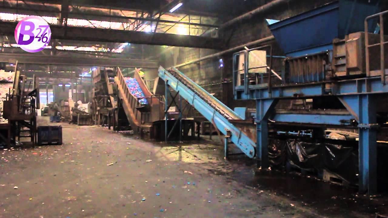 Visite de l 39 usine de recyclage des bouchons en plastique - Recyclage des cagettes en bois ...