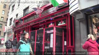 New York - Visita ad un appartamento ammobiliato su West 51st Street (Midtown West - Manhattan)