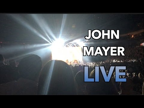 John Mayer PRS vs Strat ( John Mayer Live Columbus Ohio 2017