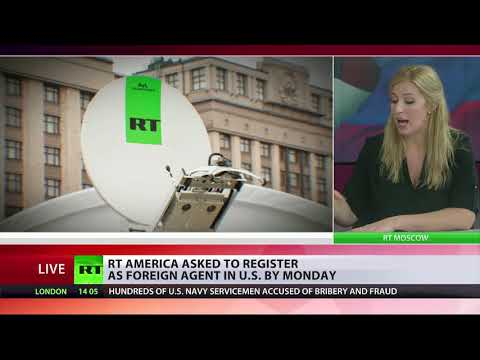 RT America asked to register as foreign agent by Monday