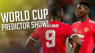 Man utd players will shine! world cup predictor preview
