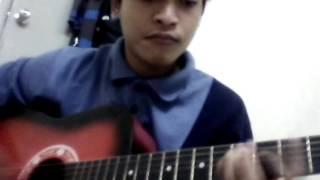 Cover gitar last child anak kecil by eko