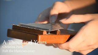 Download lagu Christina Perri - A Thousand Years(Kalimba cover & arranged by Fish the Musician)