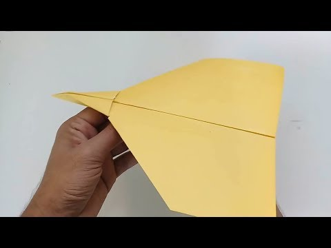 Best paper airplane - paper airplanes that fly far - paper airplane record