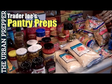 Trader Joes Pantry Preps by TheUrbanPrepper