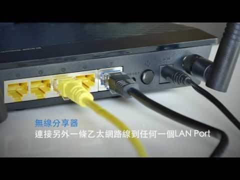 華碩無線分享器30秒超簡易安裝