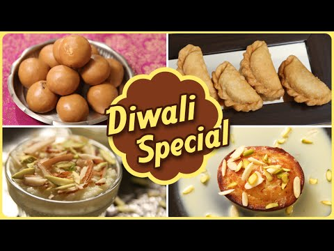Diwali Special  | Quick And Easy To Make Sweet Recipes