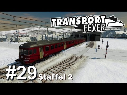 TRANSPORT FEVER S2/#29: Unterwegs mit der RABDe Mirage [Let'