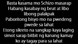 MASARAP by SCHIZOPHRENIA LYRICS