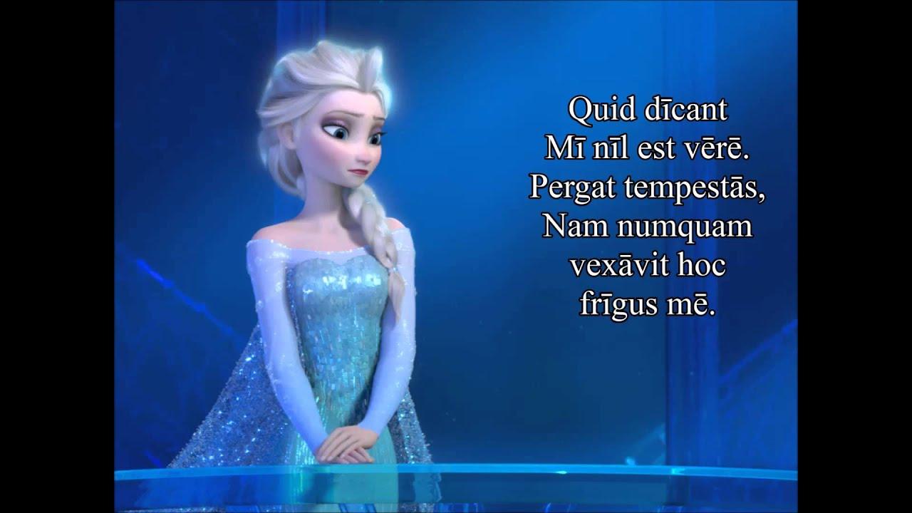 "Download Disney's Frozen - Libere (""Let It Go"" in Latin)"