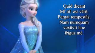 "Disney's Frozen - Libere (""Let It Go"" in Latin)"
