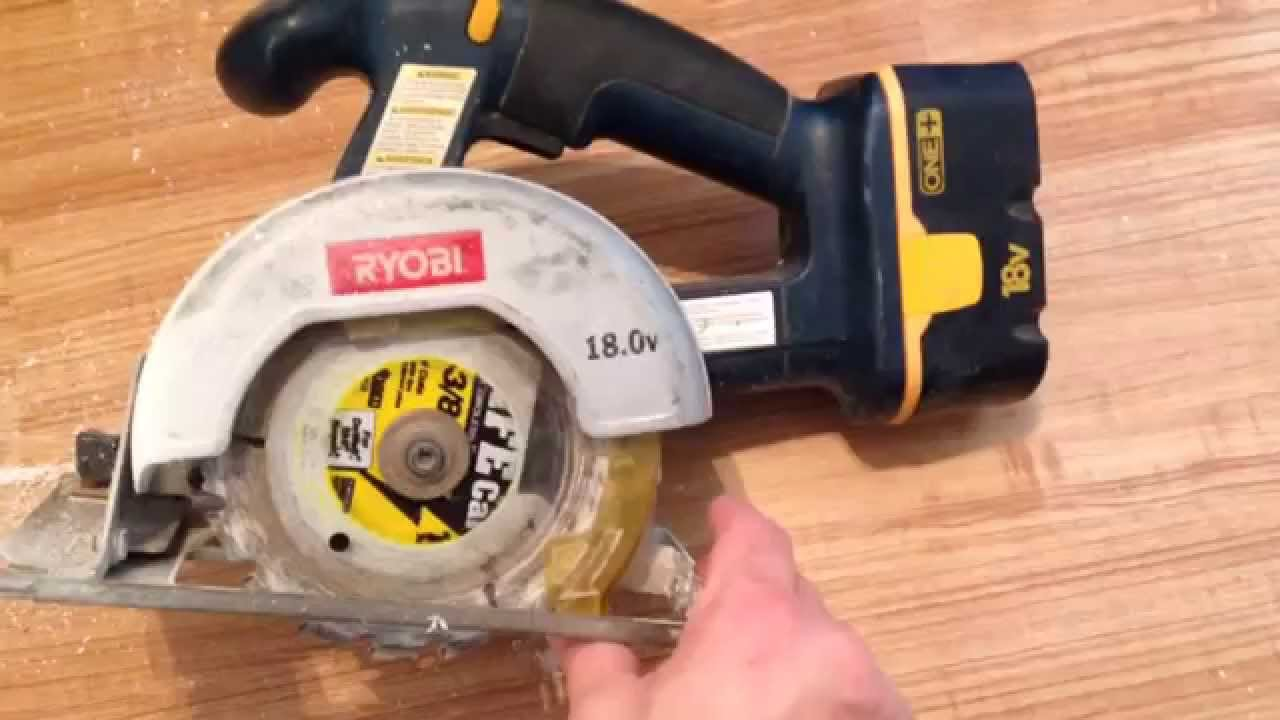 Ryobi 18v cordless circular saw customer review video youtube ryobi 18v cordless circular saw customer review video greentooth Image collections