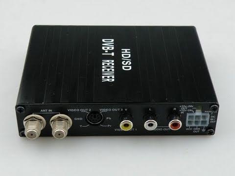 Full HD 1080 Car DVB-T MPEG-4,H.264 MPEG-2 MPEG4 AVC Digital TV Tuner 230 km/h