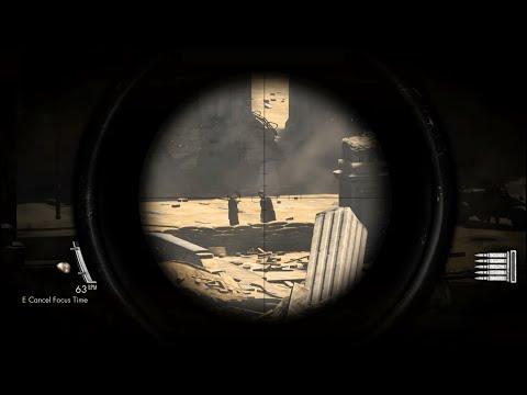 Sniper Elite v2 | Mission 1 Complete Walkthrough | Sniper Elite v2 (Cadet) | Von Eisenberg Headshot |