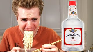 Was Alcoholic Pasta A Mistake?