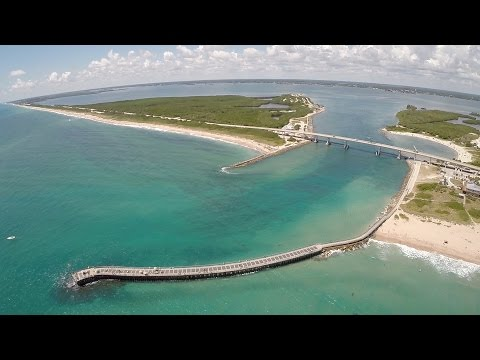 Vero Beach & Sebastian Inlet Aerial