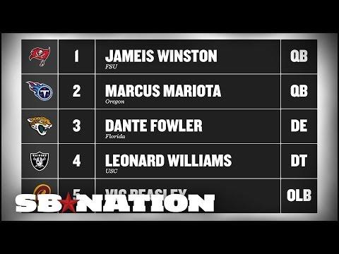 2015 NFL mock draft: Moving Marcus Mariota back up