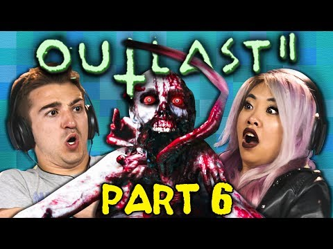 TRAPPED IN THE DARK!?!? | OUTLAST 2 - Part 6 (React: Gaming)