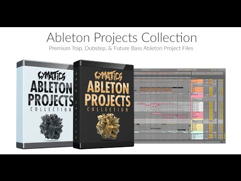 Cymatics 30 Ableton Projects Collection - MEDIATORRENTZ