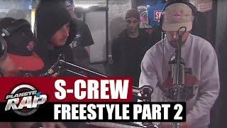 S-Crew en freestyle dans Planète Rap