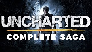 Uncharted Complete Saga Movie (Golden Abyss, Eye of Indra, Uncharted 1, 2, 3 & 4: A Thief's End)