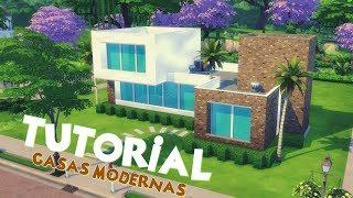 COMO EU CONSTRUO UMA CASA MODERNA?│The Sims 4 (Tutorial)