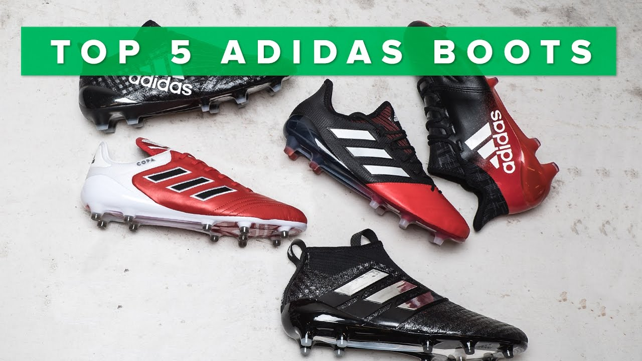 new concept ff334 65f19 Top 5 BEST adidas boots 2017   w Purecontrol, Purechaos, Copa 17.1 and X16.  Unisport