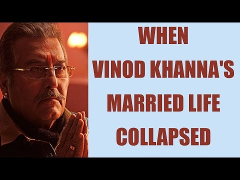 Thumbnail: Vinod Khanna and his two wives, turmoil in his married life | FilmiBeat