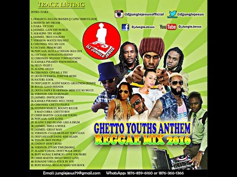 ♪Ghetto Youths Anthem Dancehall/Reggae Mix February 2016║Nesbeth║Jahmiel║Chronixx