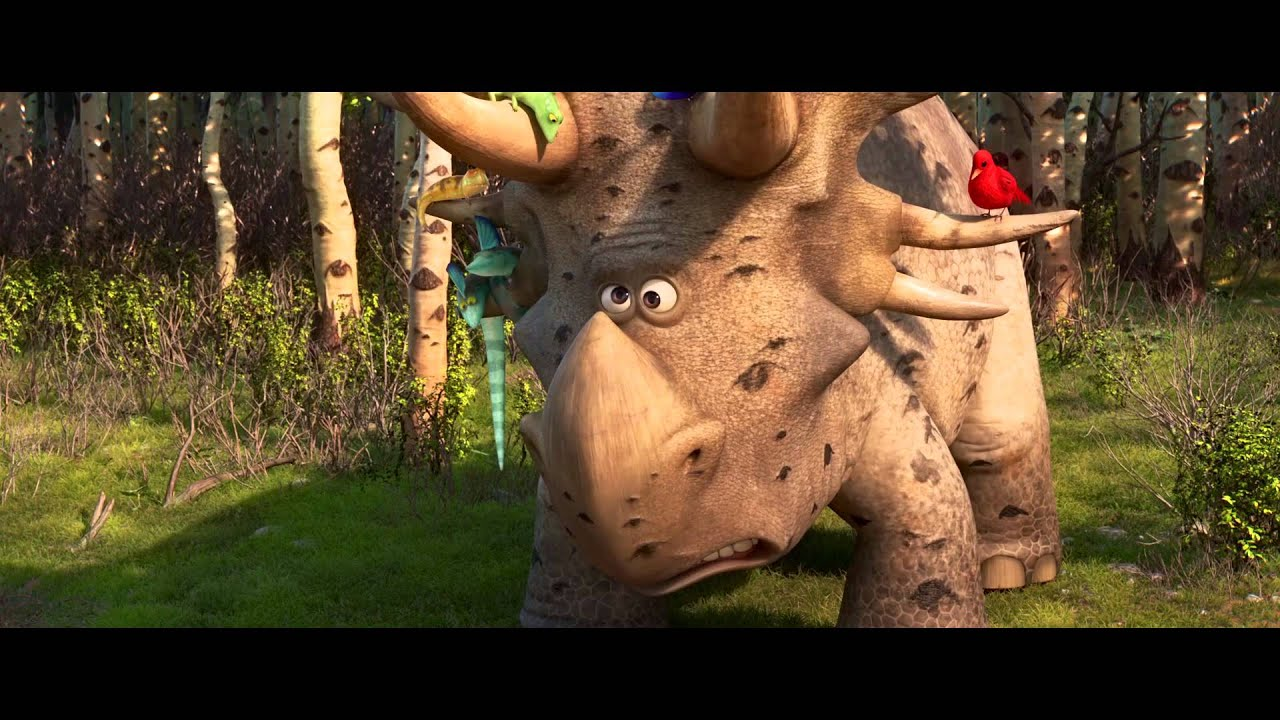 """Triceratops The Good Dinosaur: """"Pet Collector"""" Clip"""