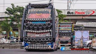 นฤมิตร มาแล้ว!!  ตามมาด้วยรถบัสสวยๆเข้างาน Thailand Tour Theque & Truck Light Show 2019