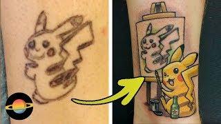 10 najśmieszniejszych przykładów zakrycia starych tatuaży