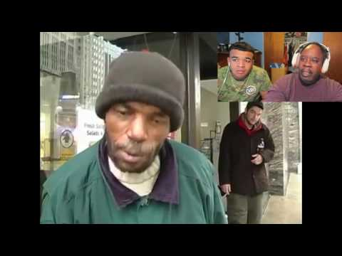 Dad Reacts To Homeless man called a bum, this will change your perspective