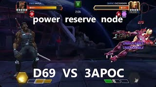 ALLIANCE WAR D69 VS 3APOC (PATH 5) marvel contest of champion