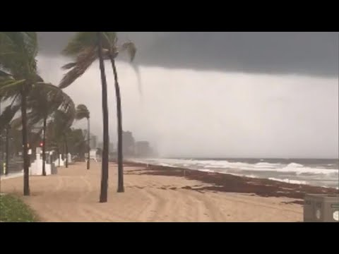 Tornado warnings in south Florida