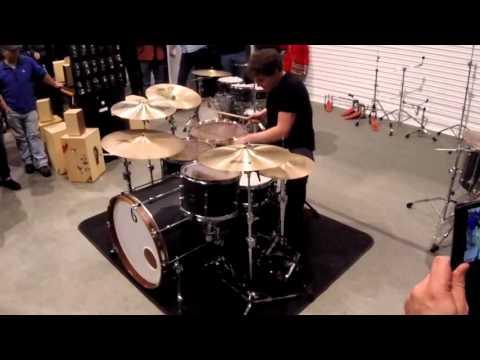 Ian Matthews (Kasabian) British Drum Company Demo at SDF15