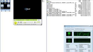 Microsoft Windows XP Pro SP2 under heavy CPU load due to RealPlayer and uTIPu