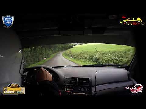 Rallye De La Famenne 2019   Michaël Tirtiaux & Manon Wilmet   BMW E 46 N° 56   Boucle 1 Spéciale 4