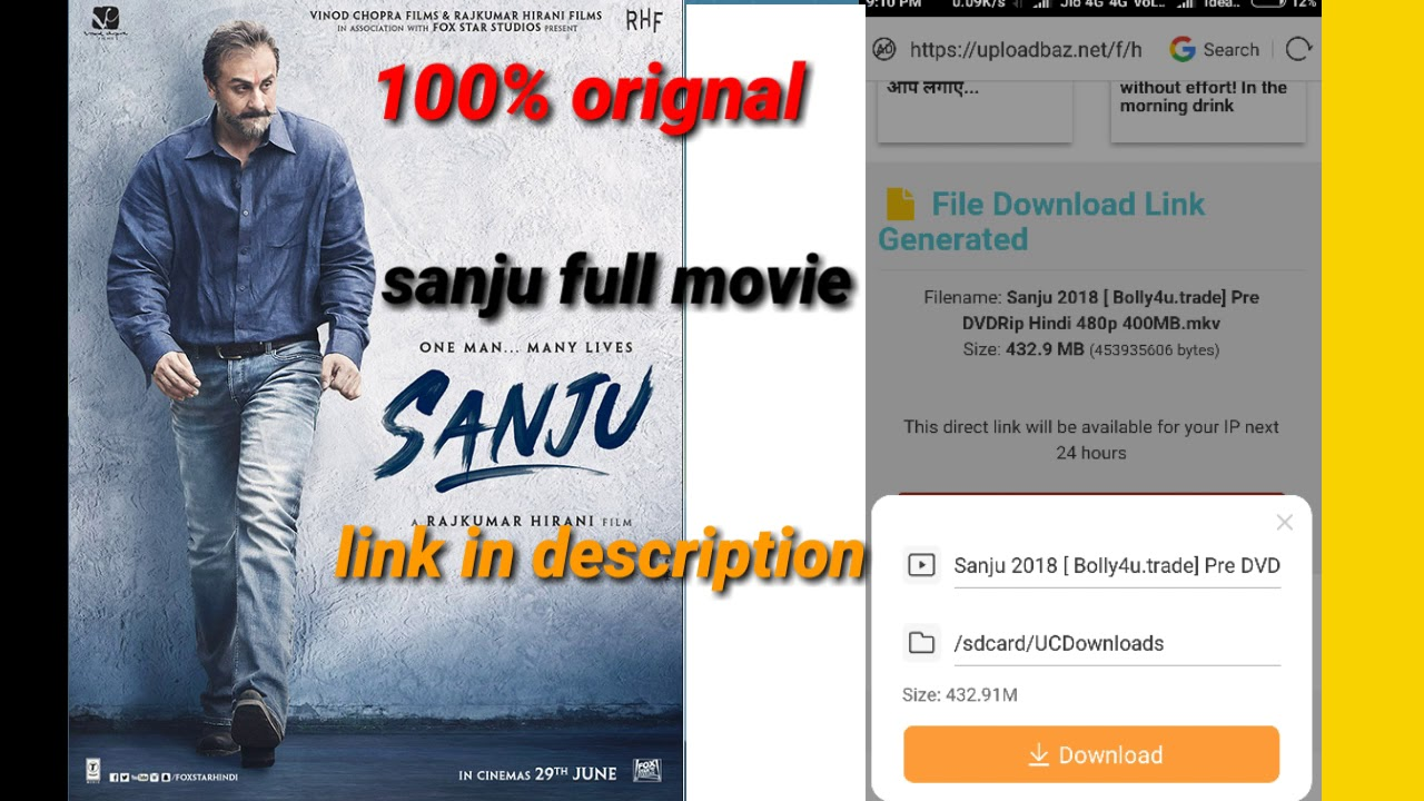 sanju full movie 2019 online watch