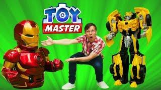 Шоу Той Мастер - Трансформеры для мальчиков - Игры супергерои