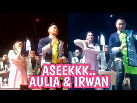 Serunya AULIA & IRWAN goyang bareng - Lida