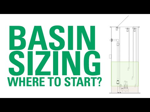 Basin Sizing: Where to Start? | Zoeller Pump Company