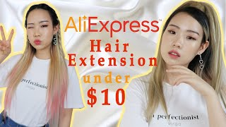 Aliexpress clip in hair