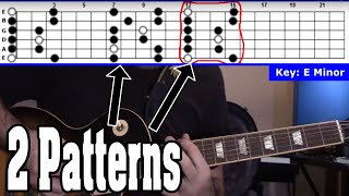 Beginner Tip - You Only Need 2 Positions to Cover (almost) the Entire Fretboard!